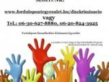 Segítség diszkrimináció esetén